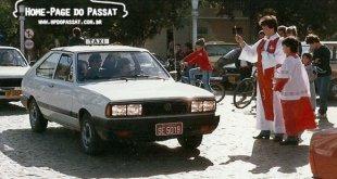 Camaquã, 1986 - Desfile em homenagem a São Cristóvão