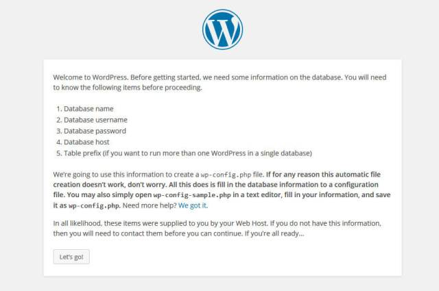 how-to-install-wordpress-locally-on-windows-wp-confiig-step-2