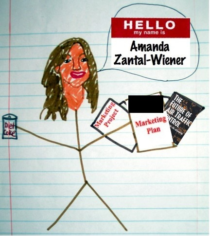 Funny illustration cover letter by Amanda Zantal-Wiener