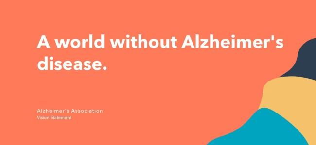 vision statement example: alzheimer's association