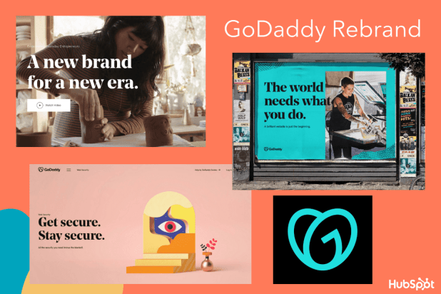 GoDaddy's major rebrand in 2020
