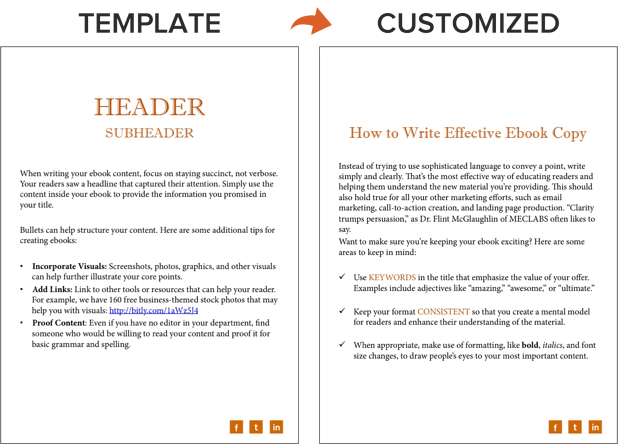 an example of ebook formatting