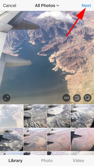 How to upload a photo on Instagram