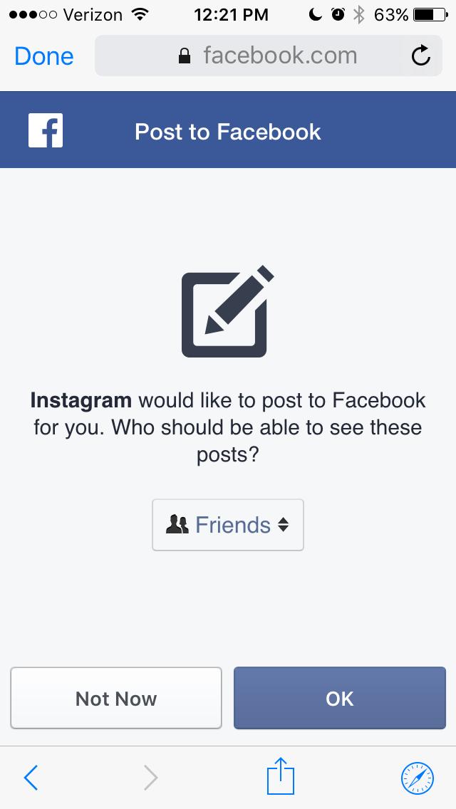 Facebook Instagram privacy