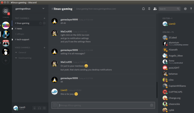 discord as a slack alternative