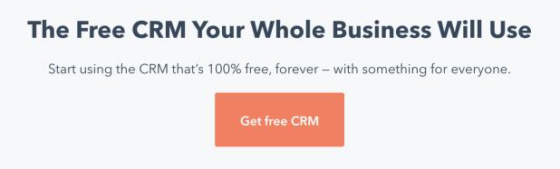 HubSpot's freemium page