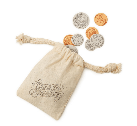 seed money in a bag