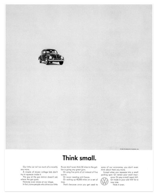 advertising volkswagen