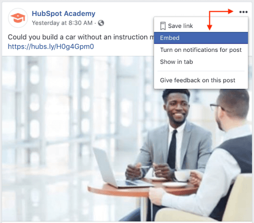 embed-facebook-post-from-hubspot-academy