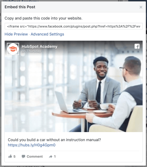 facebook-post-embed-code
