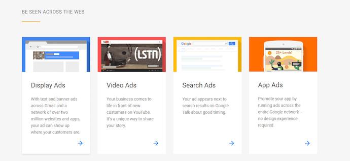 google-ppc-ad-campaign-types