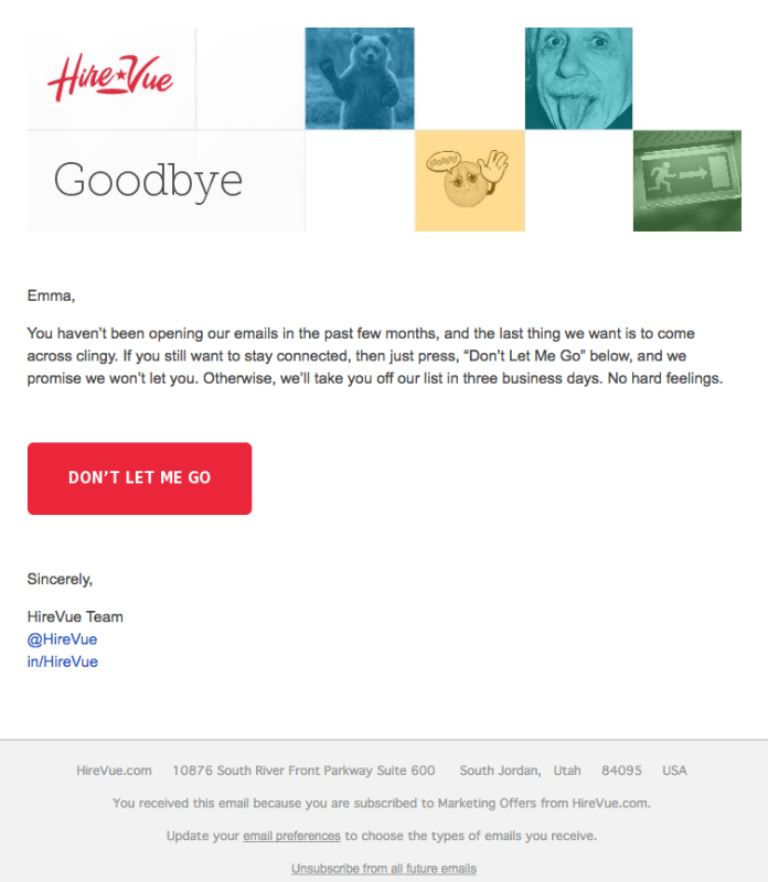 19 Examples of Brilliant Email Marketing Campaigns [Template