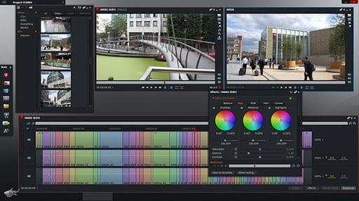 Lightworks video editor on Linux desktop