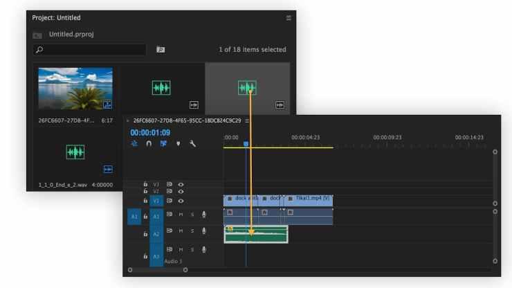 Edit music in Premiere