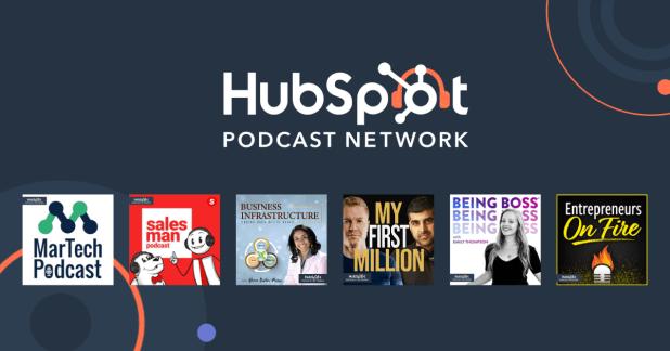 podcast network hubspot
