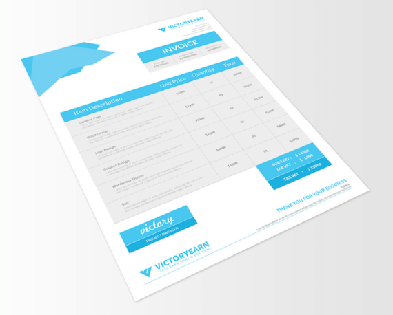 victory-invoice-template