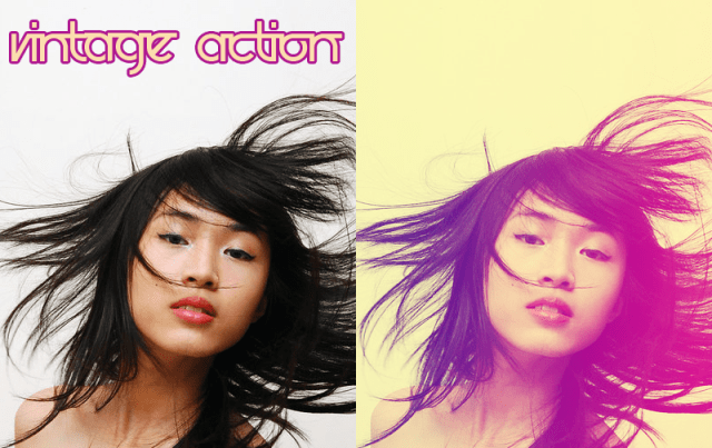 Vintage Action, a Photoshop filter