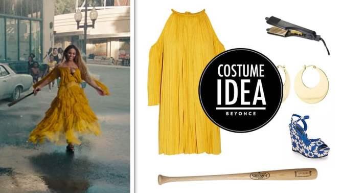 Disfraz halloween oficina Beyoncé Lemonade