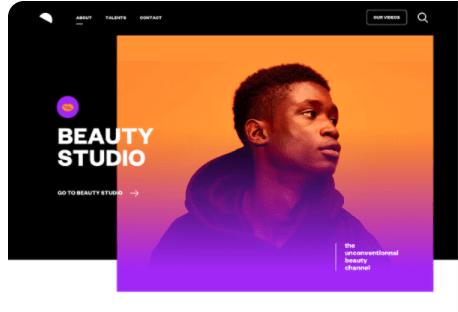 Tendencias de diseño web en 2021: degradados (ejemplo de Spotify)