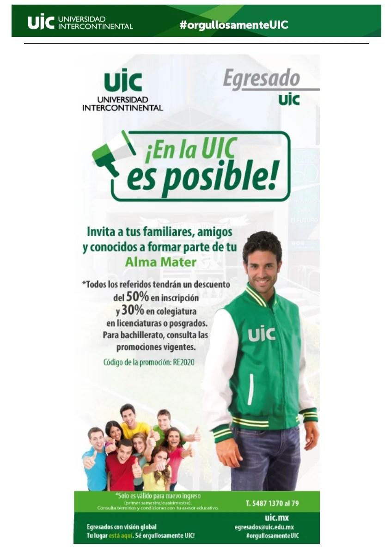 Ejemplo de estrategia de comunicación externa de UIC