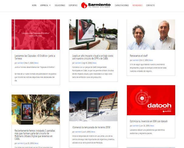 Ejemplo de estrategia de comunicación externa de Sarmiento
