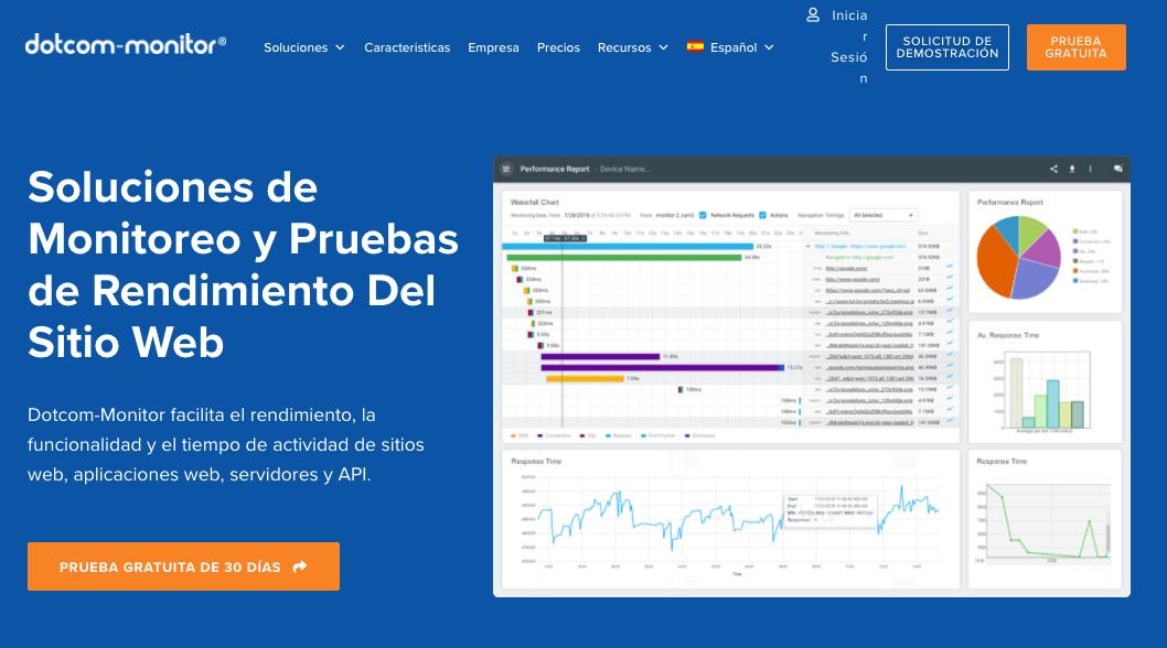 Dotcom-Monitor, herramienta para optimizar la velocidad de carga web