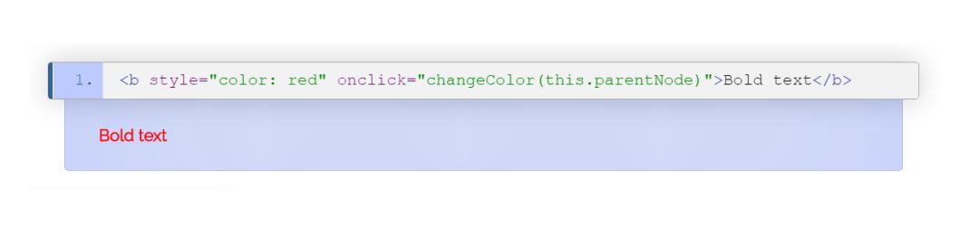Ejemplo de atributo html