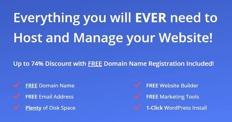 Email hosting: Just Host