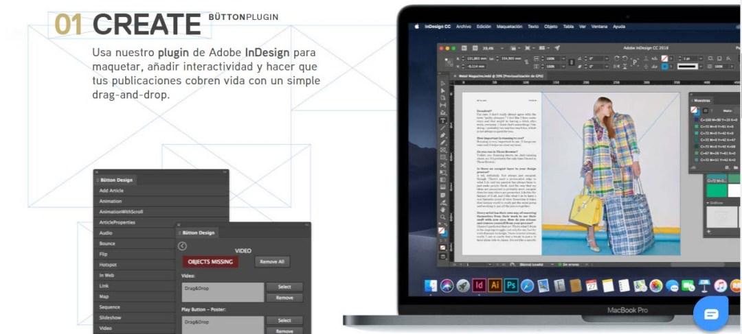 Bütton Publish, herramienta para crear una revista digital