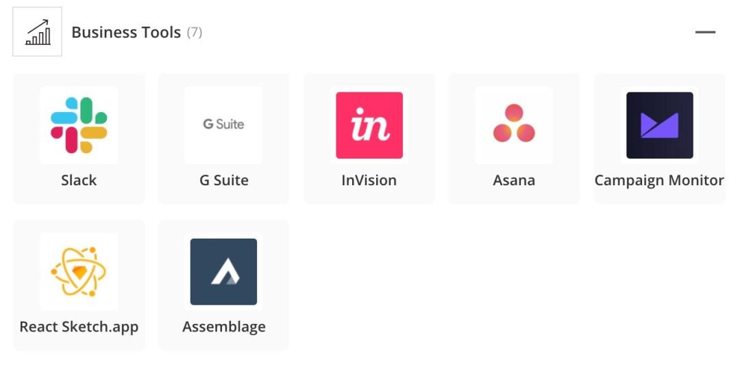 Pila de aplicaciones de ventas y marketing de Airbnb