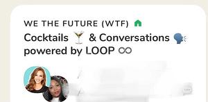 Sala de loop para conversaciones casuales en Clubhouse