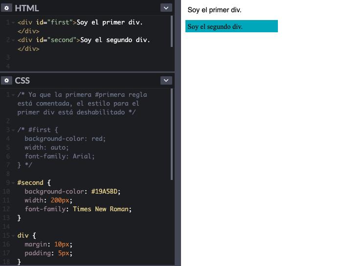 Cómo escribir comentarios dentro del código CSS