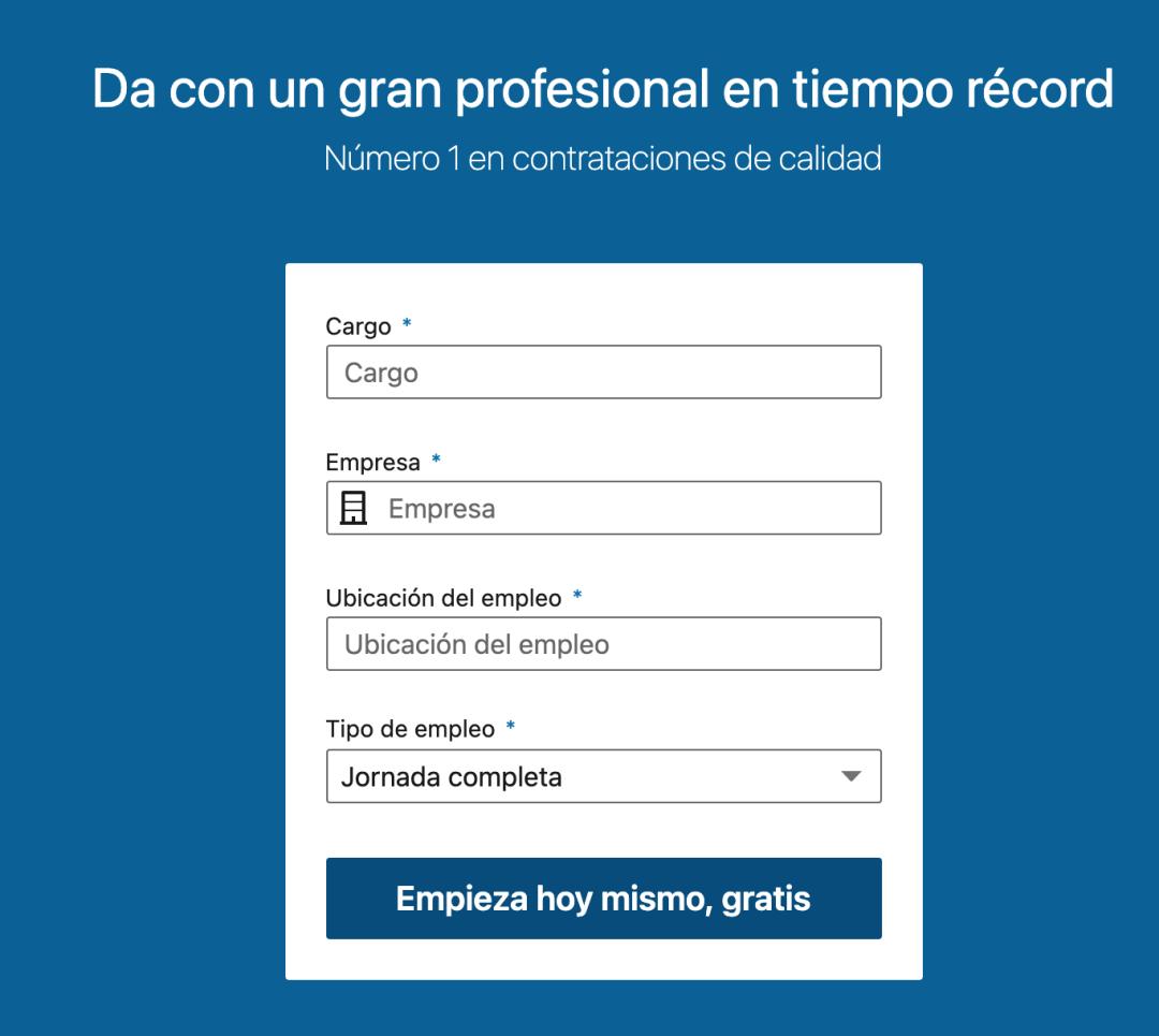 Herramientas de reclutamiento online: LinkedIn