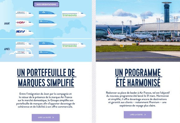 air france internal newsletter