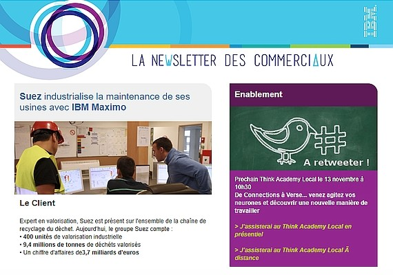 example internal newsletter suez