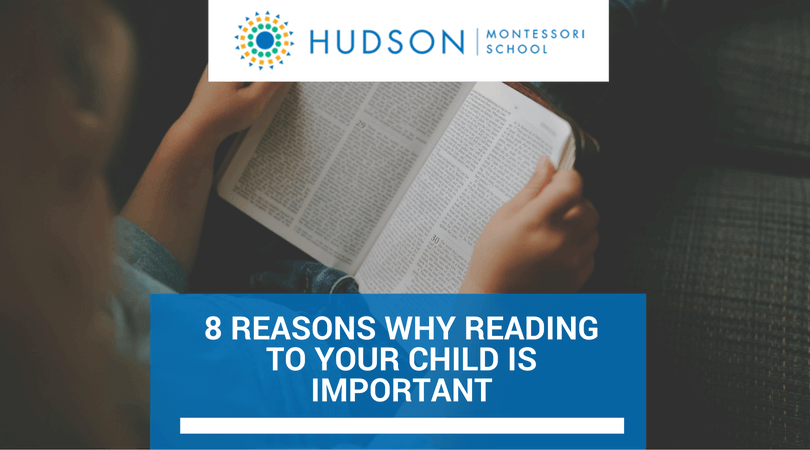 8 Reasons Why Reading to Your Child is Important