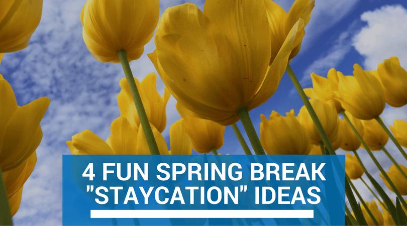 """4 Fun Spring Break """"Staycation"""" Ideas"""