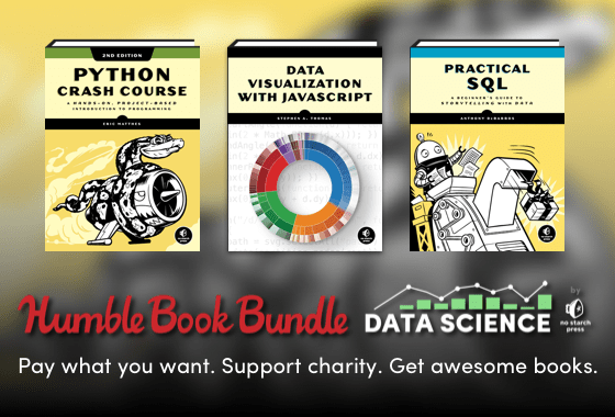 Humble Book Bundle: Data Science by No Starch Press