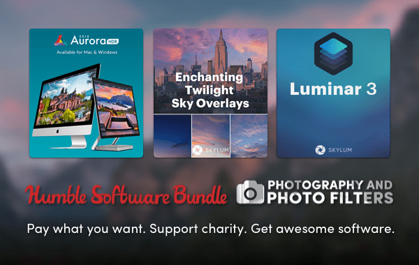 Humble Software Bundle: Photography and Photo Filters