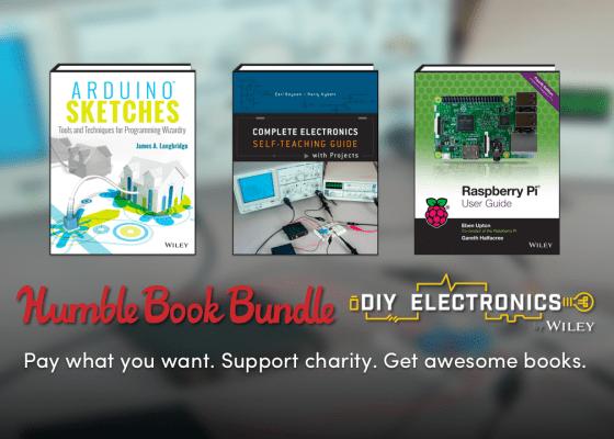 Humble Book Bundle: DIY Electronics 2.0 by Wiley