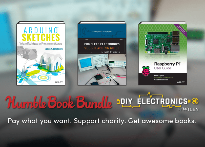 Humble Book Bundle: DIY Electronics 2.0 by Wiley