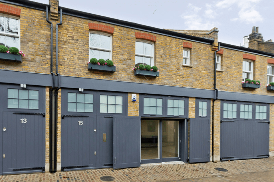 5 Contemporary Mews Houses, The Colonnades, Bloomsbury, WC1