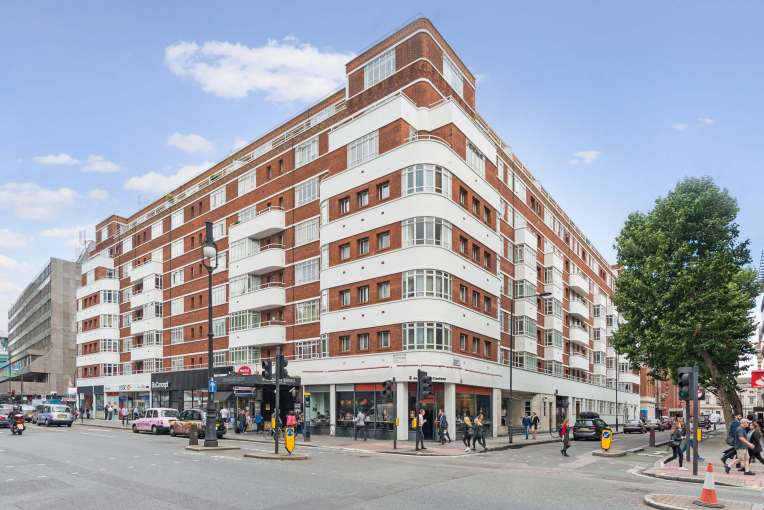 """""""The perfect example of British Modernism"""" two bedroom apartment, University Street, WC1"""