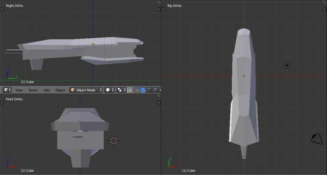 Kitbashing Spaceship Modeling Guide - Tips and Tricks