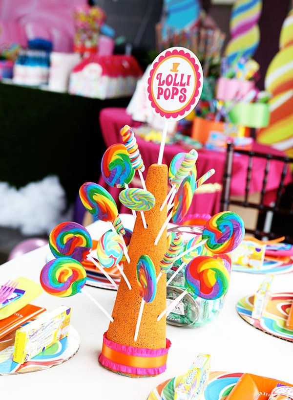 candyland christmas theme centerpieces - Candyland Christmas Theme