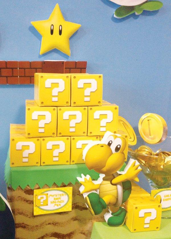 Mario Birthday Party Decorations