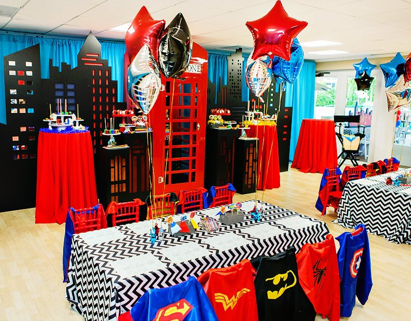 amazing quot calling all superheroes quot birthday party hostess with the