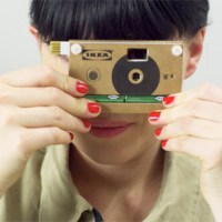 IKEA Unveils Digital Camera Made of Cardboard