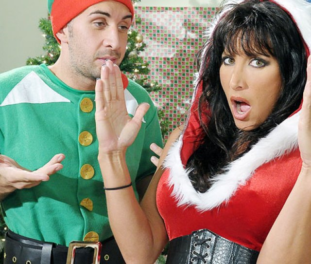 Stuff My Stocking Finds Lezley Zen Pissed At The Holidays And It Takes Elf Kieran Lee To Show Her The True Meaning Of Christmas Cock