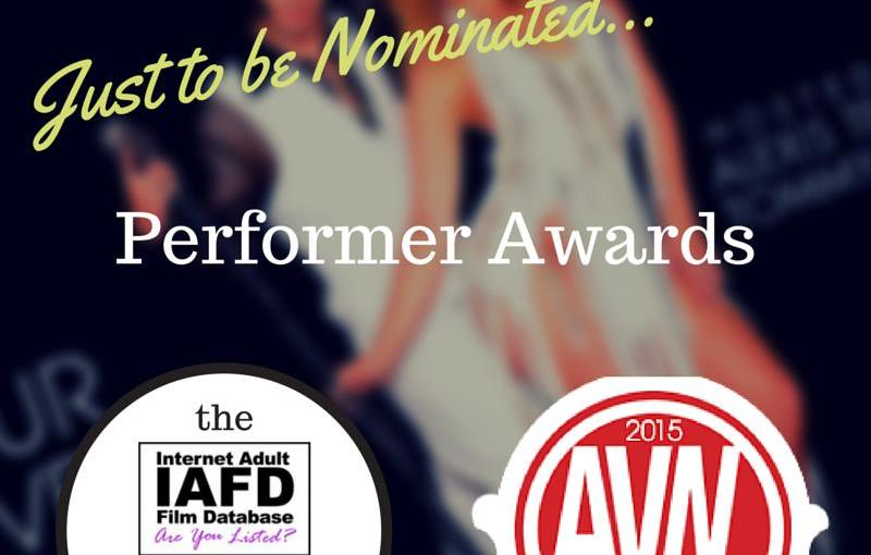 AVN Awards Nominations 2015: Individual Performer Awards